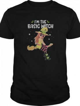 I'm the Basic Witch Funny Halloween Matching Group Costume shirt