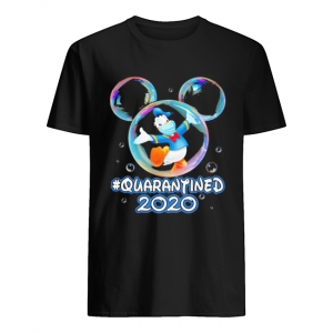 Mickey mouse donald duck wear mask quarantined 2020  Classic Men's T-shirt