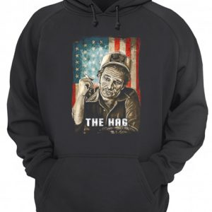 Retro Merle Tees Haggard Country Music The Hag Flag American  Unisex Hoodie