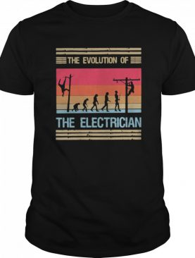 The Evolution Of The Electrician shirt
