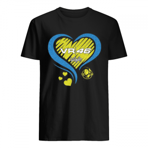 Vr46 valentino rossi racing heart diamond  Classic Men's T-shirt
