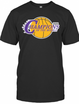 2020 Los Angeles Champions Of The Bubble T-Shirt