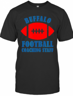 Buffalo Football Coaching Staff Armchair Quarterback T-Shirt