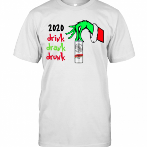 2020 Drink Drank Drunk Christmas T-Shirt Classic Men's T-shirt