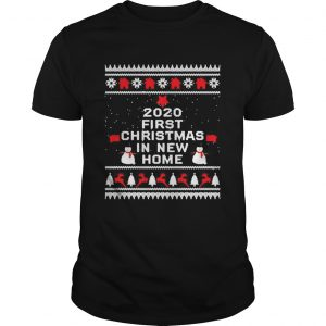 2020 first Christmas in new home  Unisex