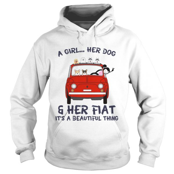 A Girl Her Dog And Her Flat Its A Beautiful Thing  Hoodie