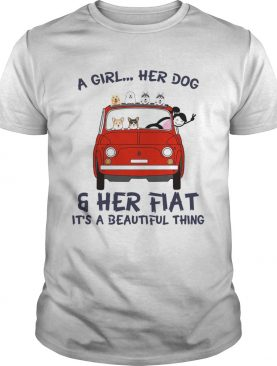 A Girl Her Dog And Her Flat Its A Beautiful Thing shirt