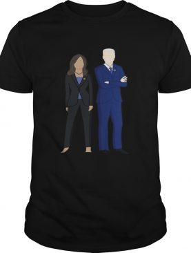 Joe Biden And Kamal Harris Modern Portrait Illustration shirt