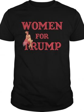 Women for Trump PinUp Girl 2020 Vote shirt