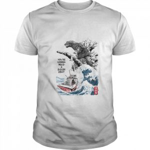Youre Gonna Need A Bigger Boat Dinosaurs  Classic Men's T-shirt