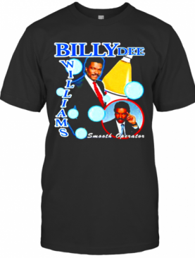 Billy Dee Williams Smooth Operator T-Shirt