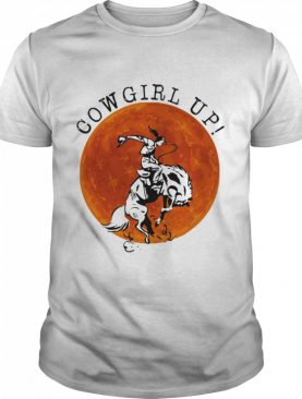Cowgril Up The Moon shirt