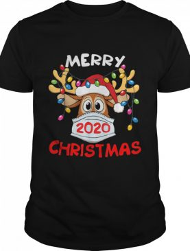 Reindeer In Mask Merry Christmas 2020 shirt