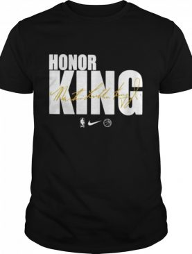 Honor king Dr. Martin Luther King signature shirt
