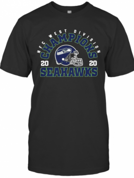 NFC West Division Champions 2020 Seattle Seahawks Football T-Shirt