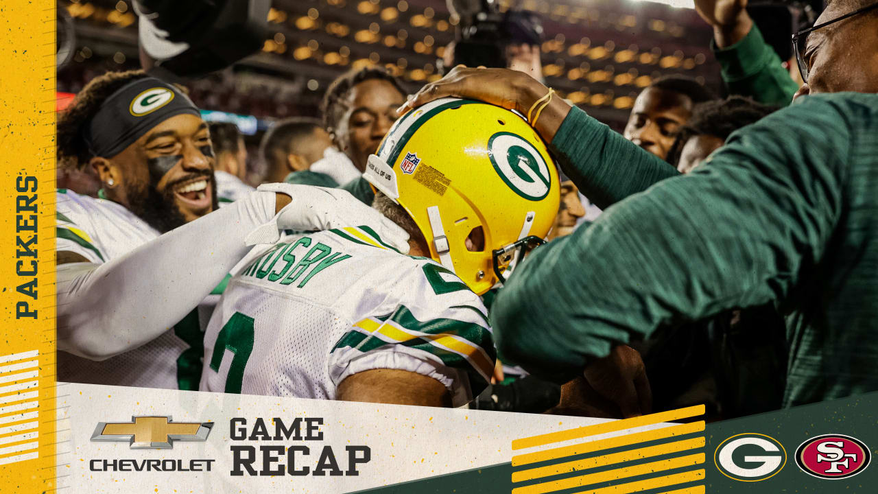 Game recap: 5 takeaways from Packers' last-second victory over 49ers